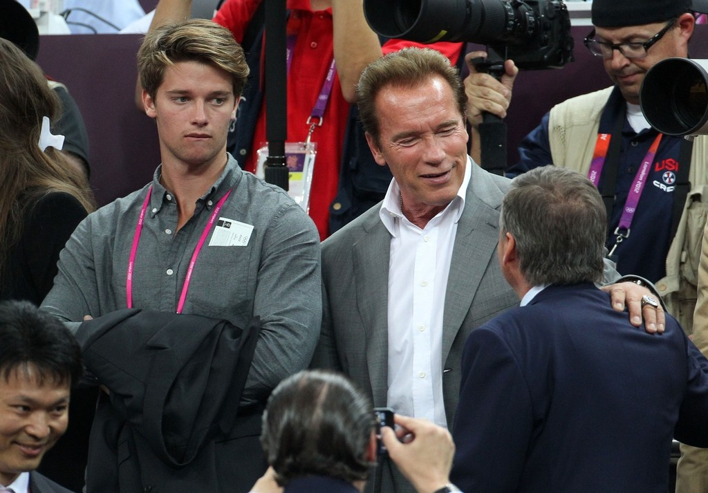 Arnold Schwarzenegger Photos Photos - Celebs at the ...