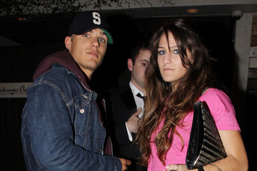 Mystery Girl Chris Zylka Actor Chris Zylka with mystery brunette outside The Beverly nightclub in West Hollywood