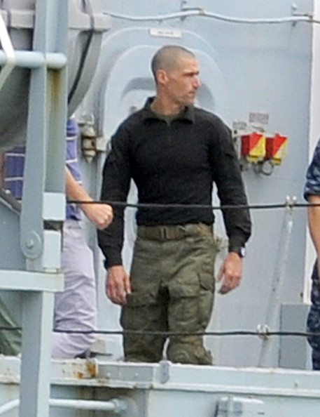 "Actors Matthew Fox and Mireille Enos join ""World War Z"" crew to film scenes for the hotly anticipated zombie movie in Falmouth, Cornwall. Earlier in the week Brad Pitt filmed scenes on board the SD Salmoor - this time it was the turn of co-stars Fox and Enos to film an escape scene on the Cornwall coast."