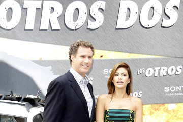 Will Ferrell Eva Mendes Will Ferrel and Eva Mendes at a Photocall