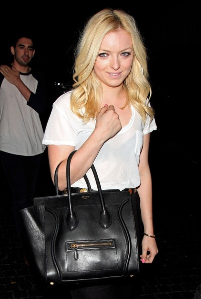 Actress Francesca Eastwood daughter of legendary actor Clint Eastwood seen leaving the Chateau Marmont in Hollywood