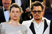 Johnny Depp and Astrid Berges Frisbey Photos Photo