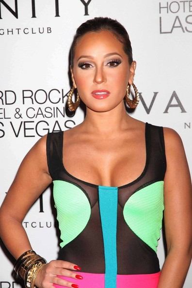 2011 Singer and actress Adrienne Bailon hosts The Evening at Vanity
