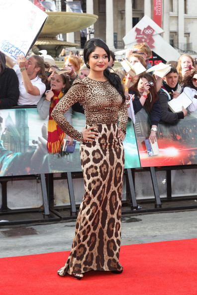 "Afshan Azad - The ""Harry Potter & The Deathly Hallows Part 2"" World Premiere in Trafalgar Square"