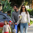 Alessandra Ambrosio Strolls Around LA With Her Husband - PHOTOS