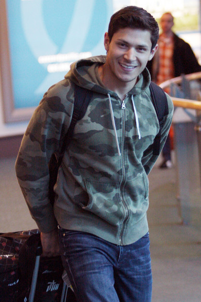 "Alex Meraz - ""Twilight"" star Bronson Pelltier hits up McDonalds and picks up some food to go right after leaving the Vancouver airport"