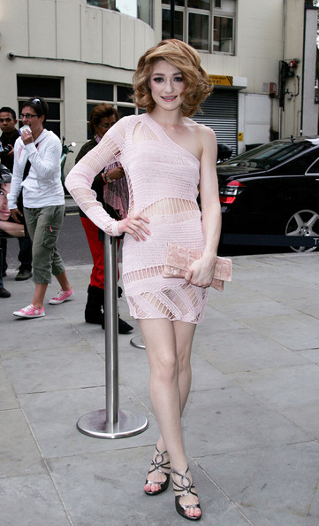 Nicola Roberts at the launch party for the opening of TopShop's Knightsbridge store.