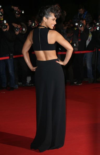 Alicia Keys - Alicia Keys attends the the 2013 NRJ Music Awards, held at the Palais des Festivals on the famous Croisette Avenue in Cannes