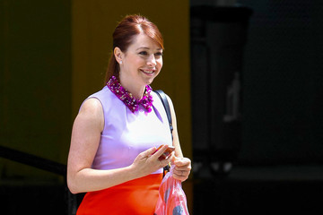 Alyson Hannigan Alyson Hannigan Out and About in NYC