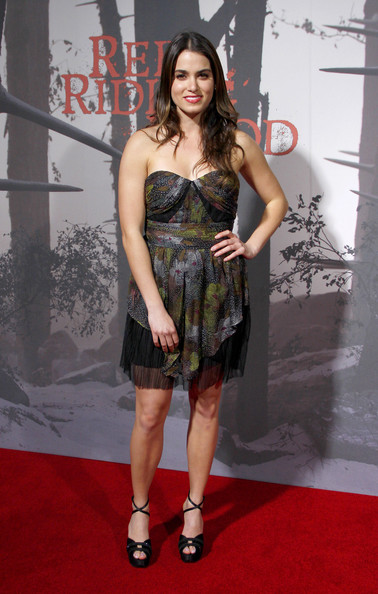 "Nikki Reed attends the Los Angeles premiere of the new film ""Red Riding Hood"", held at the Grauman's Chinese Theater, Los Angeles."