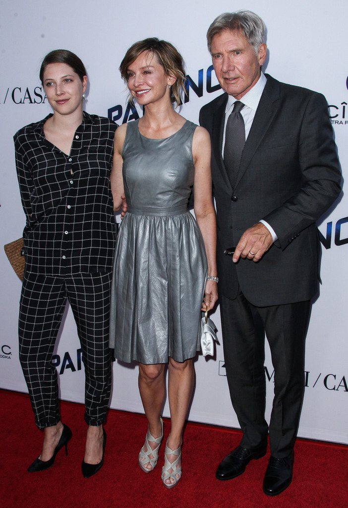 Calista Flockhart, Harrison Ford, Georgia Ford - Calista ...