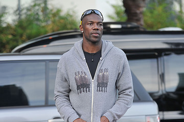 Terell Owens Terrell Owens Takes a Ride in Miami