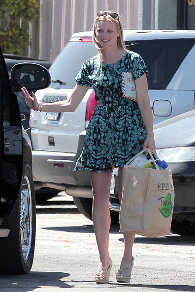 Amy Smart - Amy Smart in Santa Monica