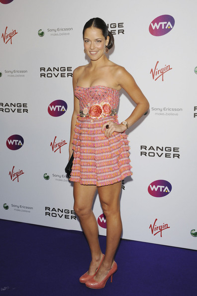 Ana Ivanovic Ana Ivanovic attending the WTA pre-Wimbledon party in association with Range Rover at the Kensington roof garden in London.