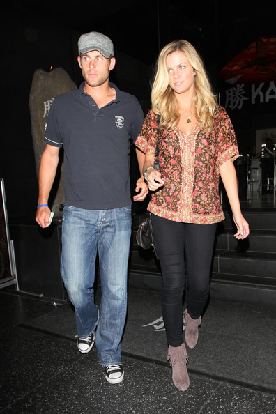 andy roddick wife pictures. Tennis player Andy Roddick