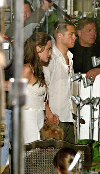 FILE: MR. AND MRS. PITT - Brad Pitt and Angelina Jolie have gotten engaged after Seven years as a couple []