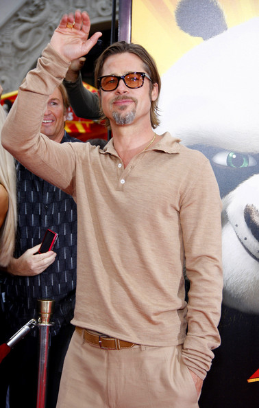 "Brad Pitt attends the Los Angeles premiere of ""Kung Fu Panda 2"" held at the Grauman's Chinese Theater, Los Angeles."