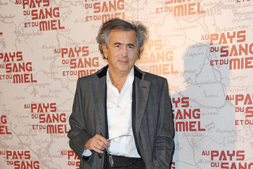 Bernard-Henry Levy Celebs at the Paris Premiere of 'In The Land Of Blood And Honey'