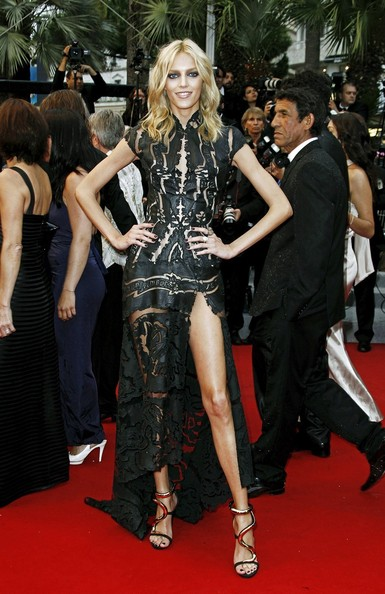 Anja Rubik - Cannes Closing Night Dinner Gala