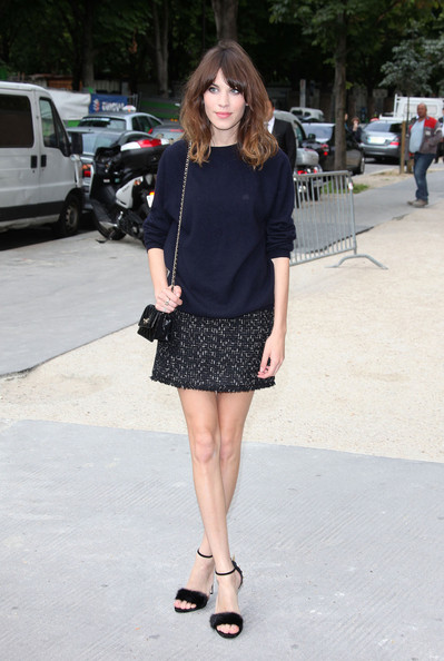 Anna+Girardot+seen+arriving+Chanel+Fashion+ Dgetjg2nwyl Vote: Which Celeb was Best Dressed Front Row at the Chanel Fall 2012 Couture Show?