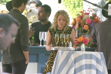 AnnaSophia Robb Chris Wood Scenes from 'The Carrie Diaries' Set — Part 3