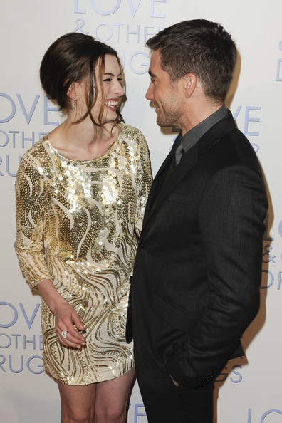 "Anne Hathaway and Jake Gyllenhaal at the Australian premiere of ""Love and other Drugs"" at the Events Cinema in Sydney."