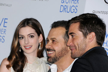 Anne Hathaway Jake Gyllenhaal Screening of 'Love and Other Drugs'