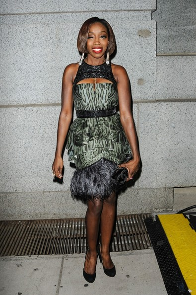 Estelle attending the  Angel Ball 2012 hosted by Gabrielle's Angel Foundation at Cipriani Wall Street in New York City.