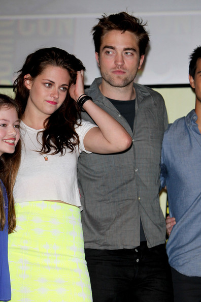 Twilight: Break Dawn Part 2' co-stars at Comic-Con 2012 in San Diego