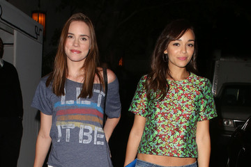 Ashley Madekwe Christa B. Allen 'Scandal' Stars Hang Out in Hollywood