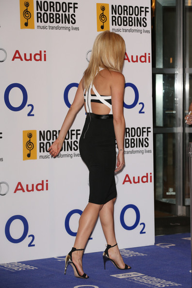 Arrivals at the O2 Silver Clef Awards
