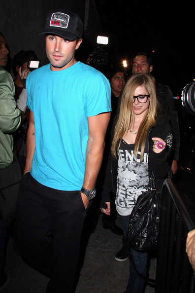 "Brody Jenner Songstress Avril Lavigne and her new man Brody Jenner of ""The"