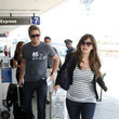 Lindsey Price Curtis Stone and Lindsay Price at LAX