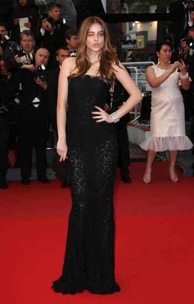 Barbara palvin pictures 39 all is lost 39 premieres in cannes zimbio - Barbara palvin red carpet ...