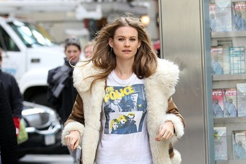 Behati Prinsloo Namibian supermodel Behati Prinsloo is seen out for a stroll around Midtown Manhattan