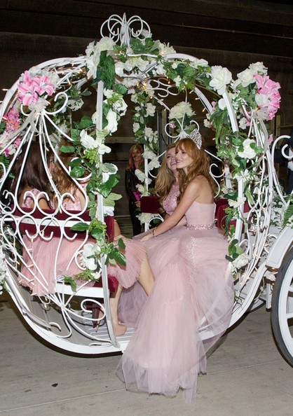 Bella Thorne - Bella Thorne Celebrates Her Quinceneara