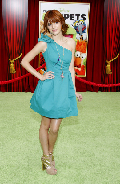 Bella Thorne - World Premiere of 'The Muppets' in LA