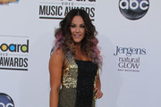 Lacey Schwimmer on the red carpet at the Billboard Music Awards 2012 in Las Vegas.