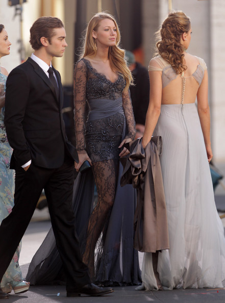 Blake Lively and Chace Crawford - Sam Page and Katie Cassidy Film at the