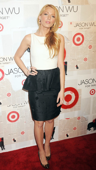 Blake Lively Blake Lively attending the Jason Wu For Target launch at Skylight SOHO in New York City.