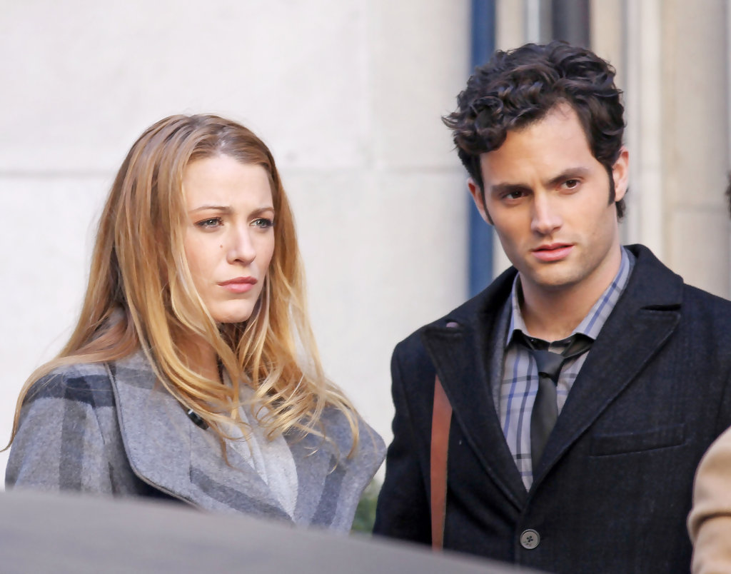 Penn Badgley and Blake Lively originally wanted to keep their romance under wraps