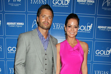 Brooke Burke David Charvet Brooke Burke and David Charvet at 'Vegas' Magazine's March Issue Party