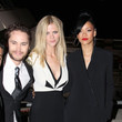 Brooklyn Decker and Rihanna at a 'Battleship' Screening