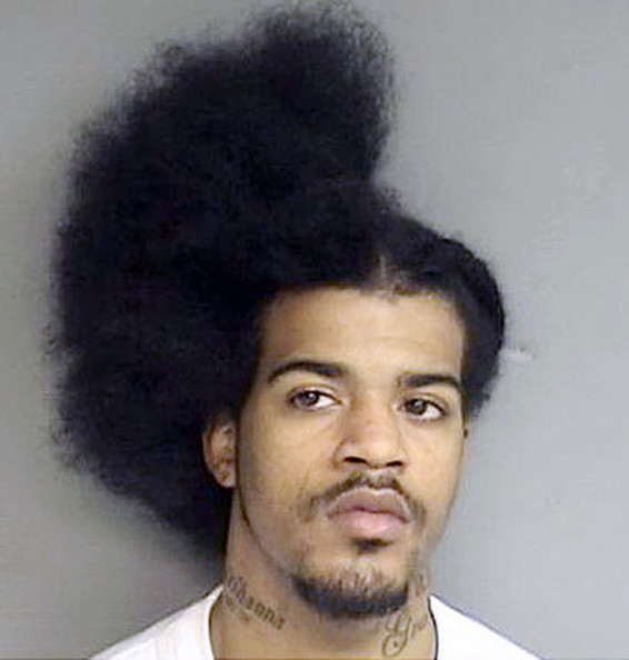 MAN IS ARRESTED AFTER FIGHT AT BARBER'S SHOP HALFWAY THROUGH HAIR CUT