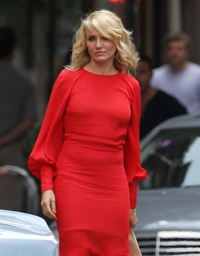 cameron diaz photos photos 39 the other woman 39 films in nyc zimbio. Black Bedroom Furniture Sets. Home Design Ideas