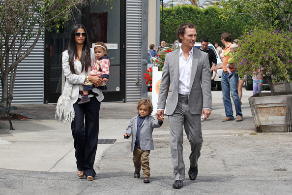 "Camila Alves Matthew McConaughey, wife Camila Alves and their two children Levi and Vida are spotted leaving a Church after a Sunday service. McConaughey newest film ""Bernie"", co-starring Jack Black, will be premiering at the 2011 Los Angeles Film Festival."