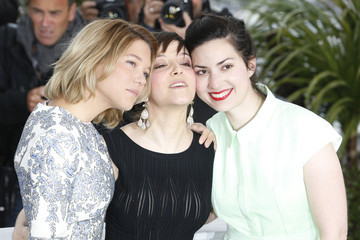 Camille Lellouche 'Grand Central' Premieres in Cannes