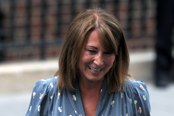 Carole Middleton Carole and Michael Middleton Visit St. Mary's
