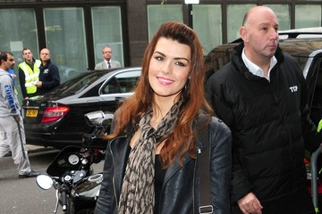 Carolynne Poole Melanie Masson is spotted at the BBC Radio One studio in London