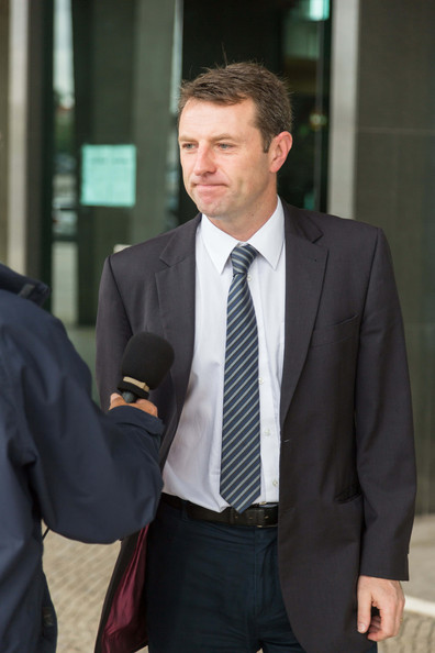 Court Arrivals for Healy Case